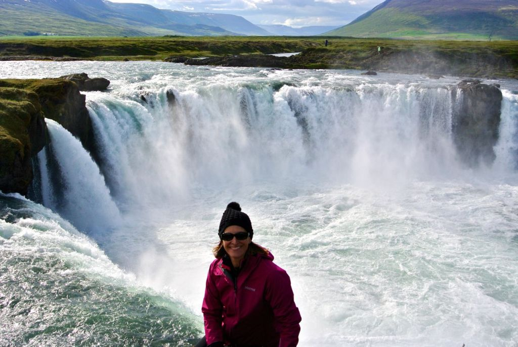 Iceland road trip: Godafoss in north east Iceland.