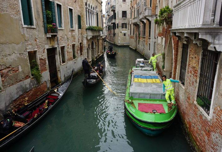 Venice back canals