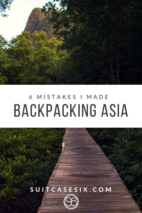 Suitcase Six 0bd3f5466a6bb37f2b35cf5c783f7048 6 Mistakes I Made Backpacking Asia