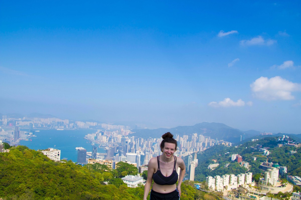 Marie at Victorias Peak Hong Kong