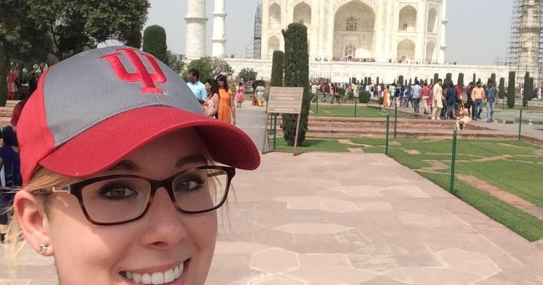 Suitcase Six selfie_tajmahal_india Woman of the Week: Haley