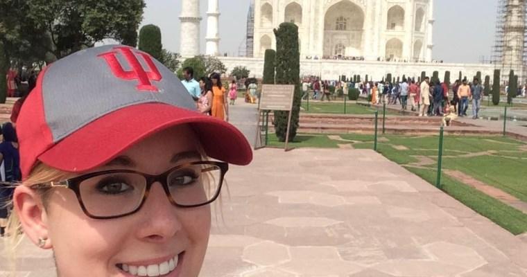 Suitcase Six selfie_tajmahal_india Woman of the Week: Haley