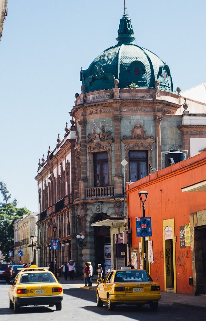 The bright streets of oaxaca