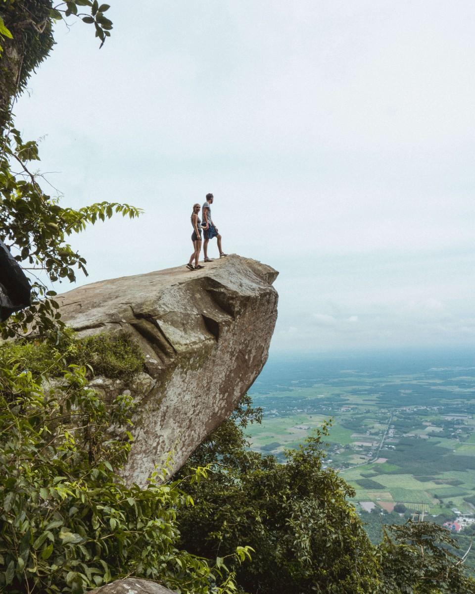 Hiking Black Virgin Mountain outside HCMC