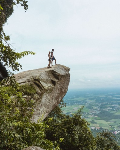 Suitcase Six Hiking-Black-Virgin-Mountain-outside-HCMC Woman of the Week: Frances