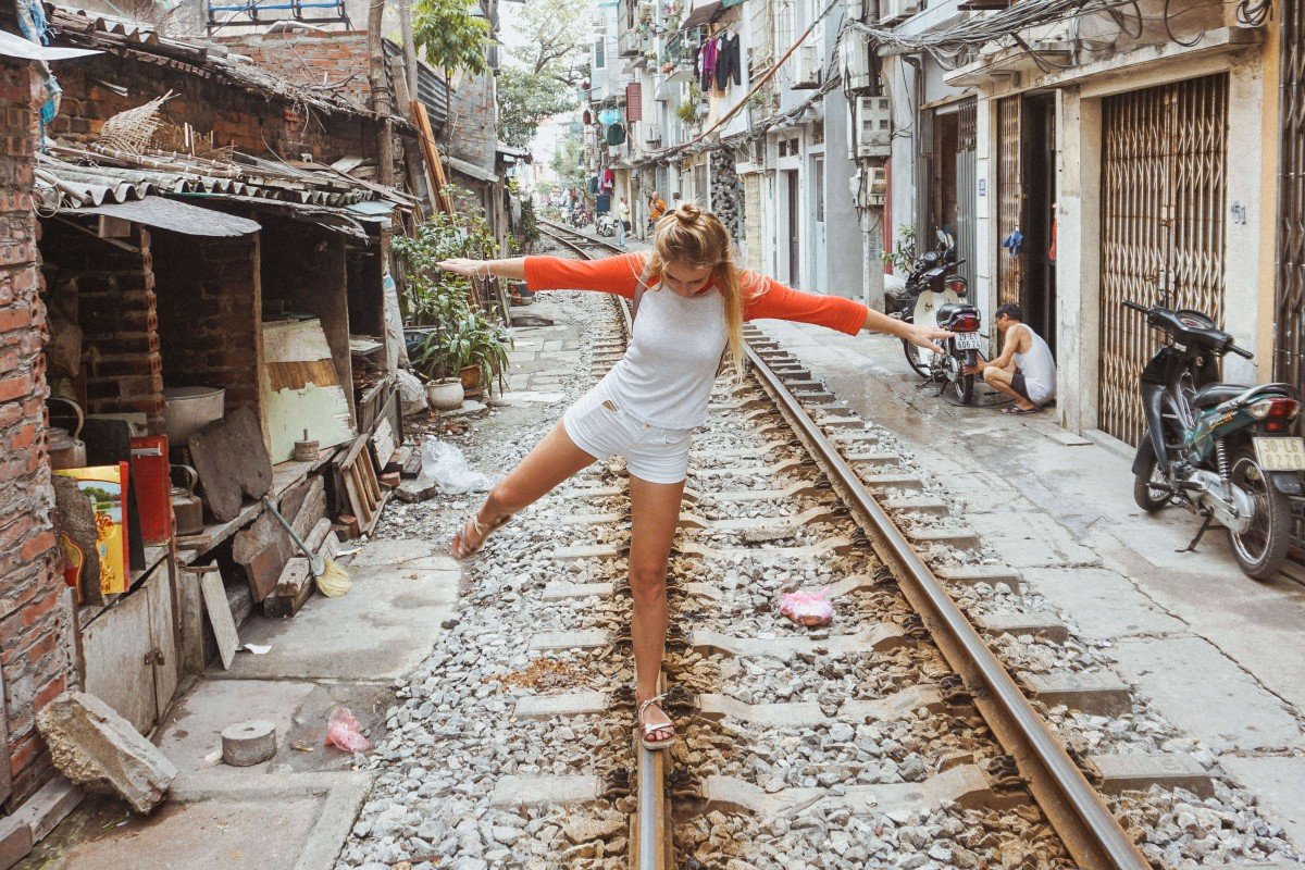 Suitcase Six Hunting-down-the-Hanoi-Train-Street Woman of the Week: Frances