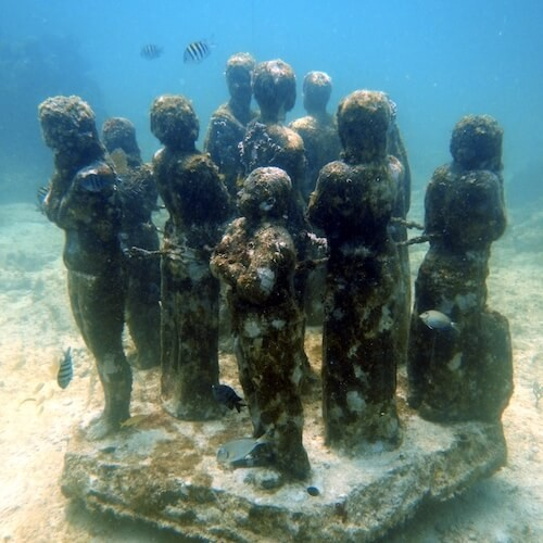 Suitcase Six The-MUSA-Diving-Cancun-Underwater-Museum-Manchones-Reef-Statues-2 8 Environmentally Friendly Adventures to Discover Around the World