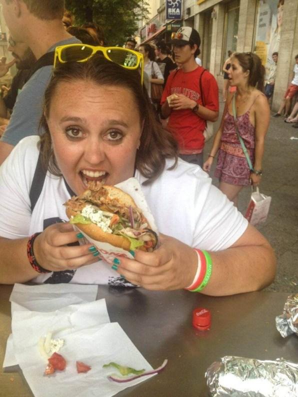 Suitcase Six Rachelle-Sandwich Woman of the Week: Rachelle