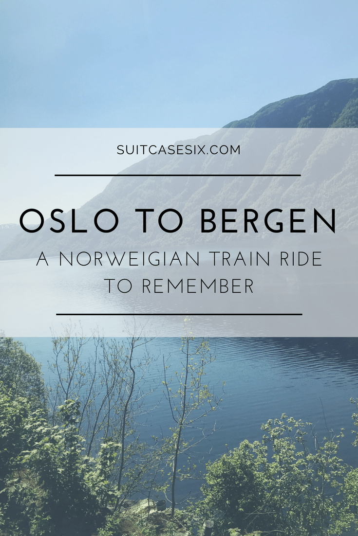 Suitcase Six ITINERARY-PINS-3 Oslo to Bergen: A Train Ride To Remember