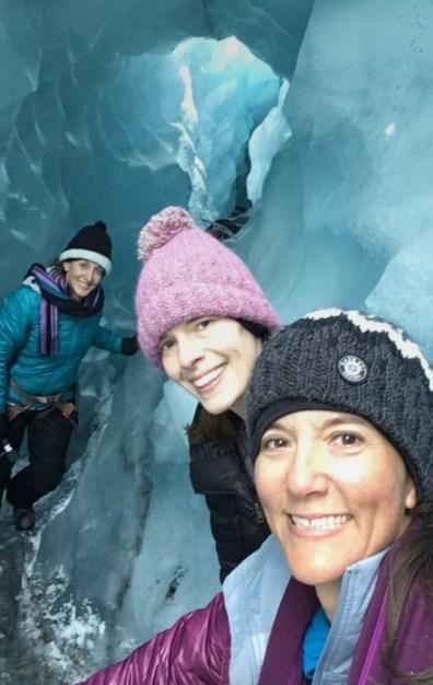 Suitcase Six Kim-Glacier-Hiking Woman of the Week: Kim