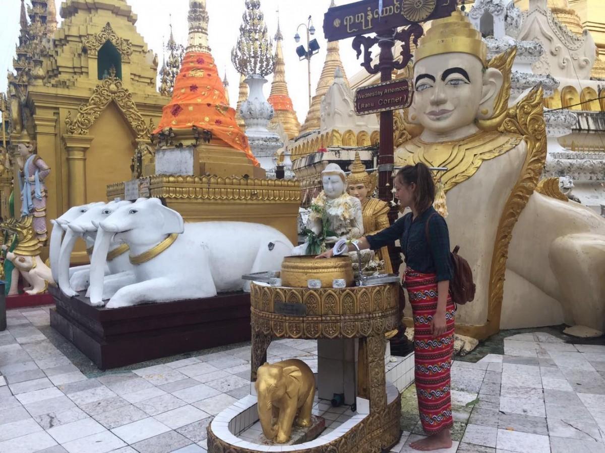 Woman of the Week: Stef in Myanmar