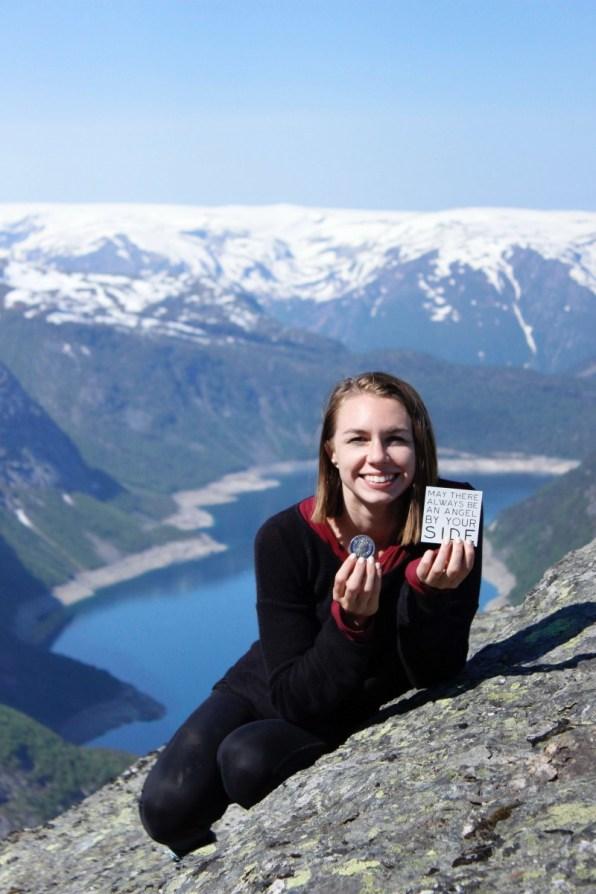 Suitcase Six Trolltunga-magnet-coin Halfway Around The World: Mid-Trip Updates