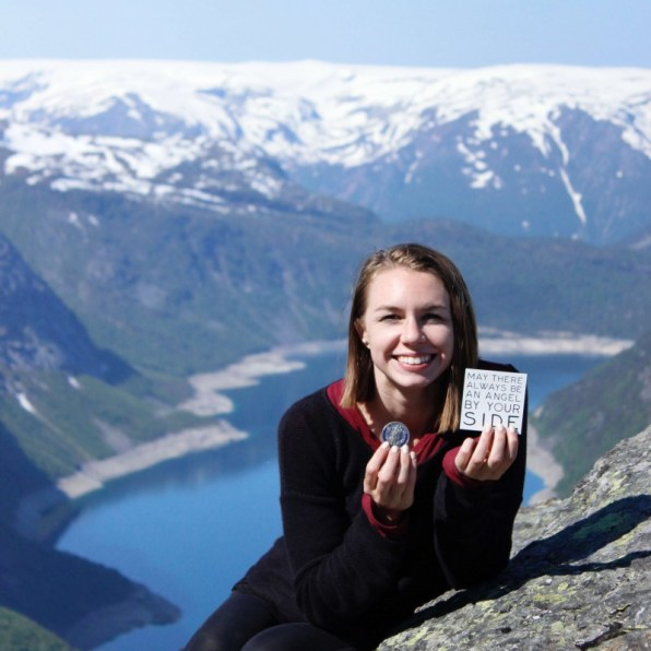 Suitcase Six Trolltunga-magnet-coin Halfway Around The World: Mid-Trip Updates