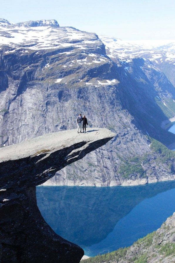 Suitcase Six Trolltunga Halfway Around The World: Mid-Trip Updates