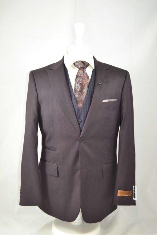 Steve Harvey Plaid Vest Suit – 218883SHS
