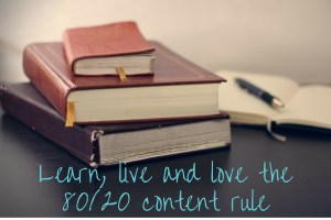 80/20 content rule