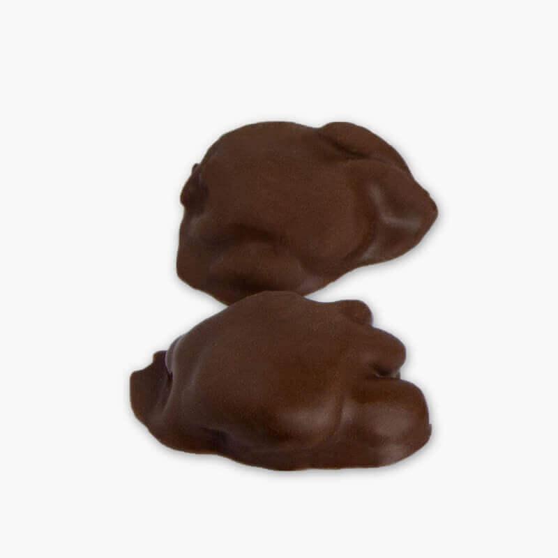 tortues d'amandes au chocolat au lait