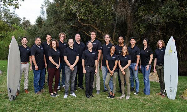 SuiteCentric Team Picture Surfboards