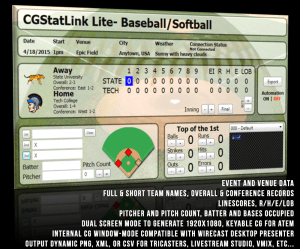 Product Header- Baseball Lite