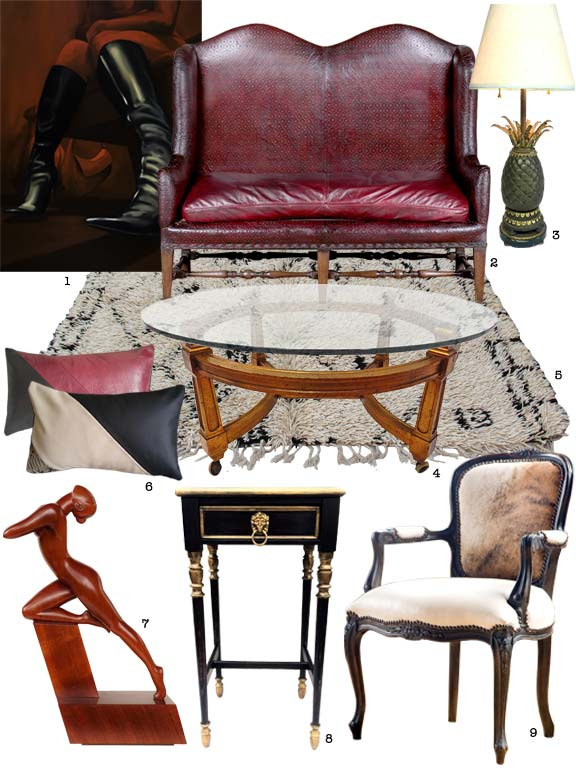 Glamorous items for Living Room