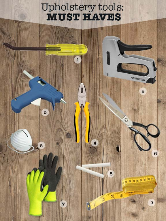 Must have DIY Upholstery tools