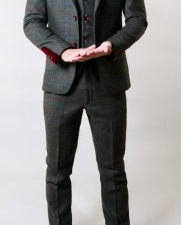 Andrew Moss Green Three Piece Tweed | Suits Distributors Cork