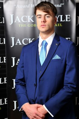 Royal Blue Three Piece Jack Doyle Suit Suit Distributors Cork