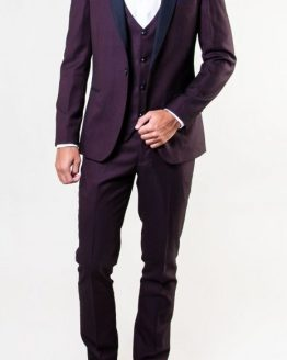 Sam Wine Three Piece Tuxedo Suit Distributors Cork