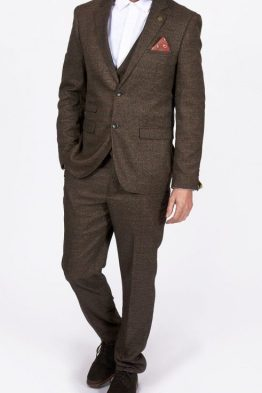 James Brown Tweed Check Three Piece Suit | Suits Distributors Cork