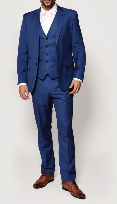 Rambo Navy Three Piece Notch Lapel Suit | Suits Distributors Cork