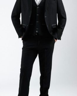 Will Black Denim Look Three Piece Suit Suit Distributors Cork