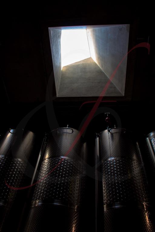 Lichtkuppel von unten