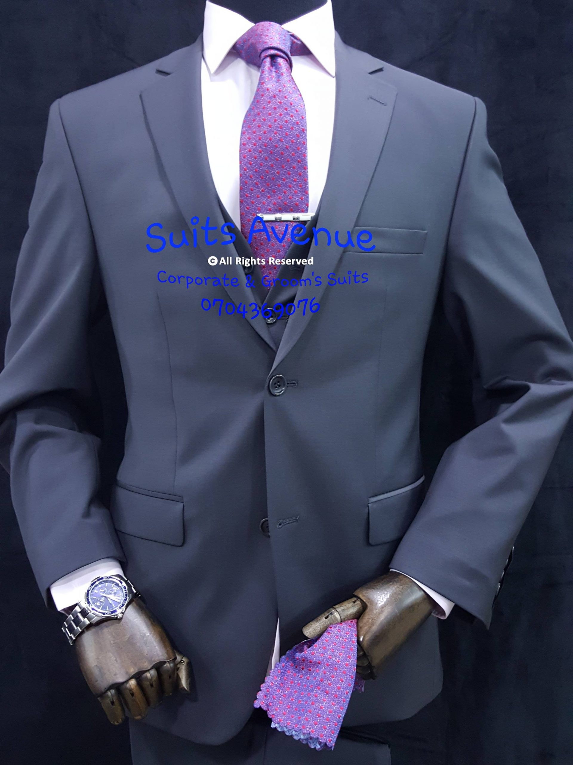 Imported suits from Italy and Turkey