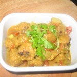 Soya Chunk Potato Curry