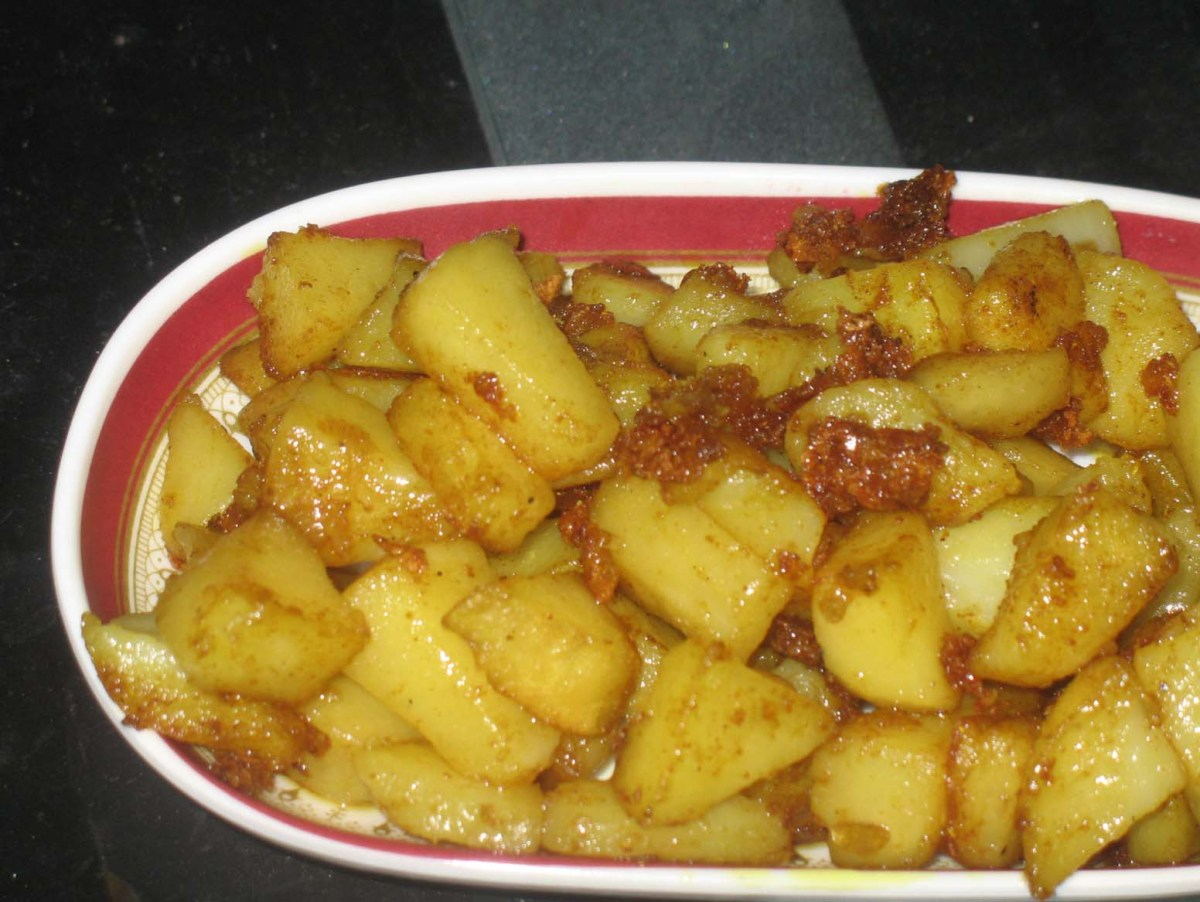Spicy Potato Roast