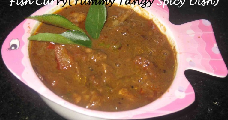 Fish Curry(Yummy Tangy Spicy Dish/Fried coconut fish curry)