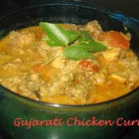 Chicken curry(Gujarati Method)/ Marghanu Shaak