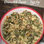 Drumstick Leaves Egg fry