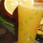 Orange-Sweet lime juice