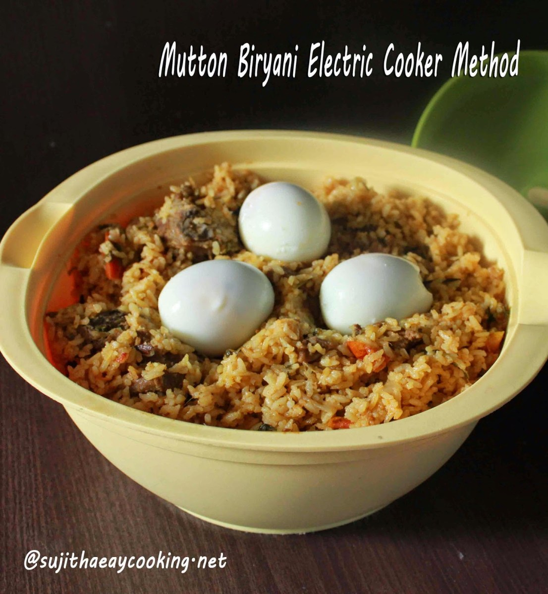 Mutton Biryani- Electric Cooker Method