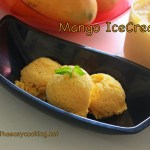 Eggless Mango IceCream