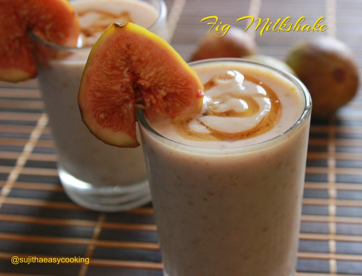 Fig Milkshake