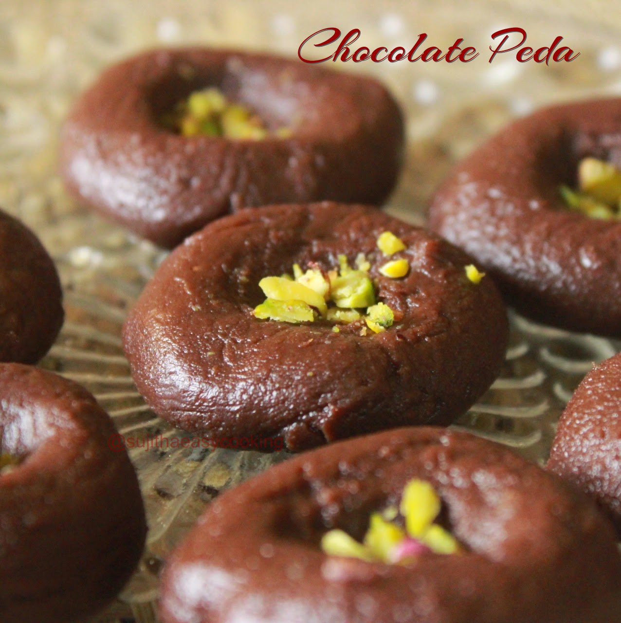Chocolate Peda/Instant Chocolate peda