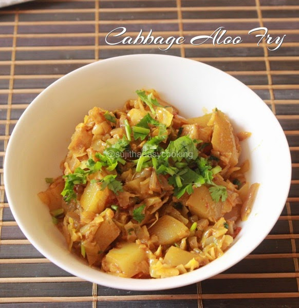Cabbage Aloo Curry