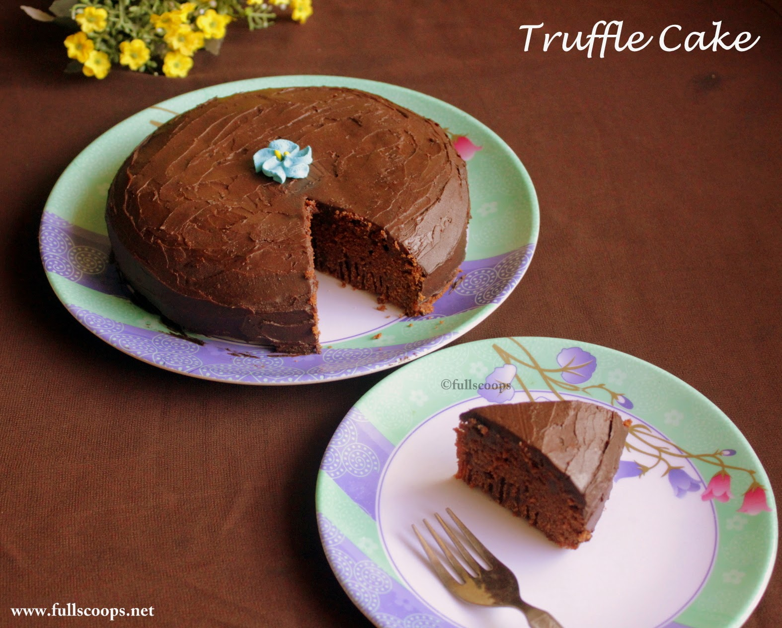 Chocolate Truffle Cake- Guest post by Beulah