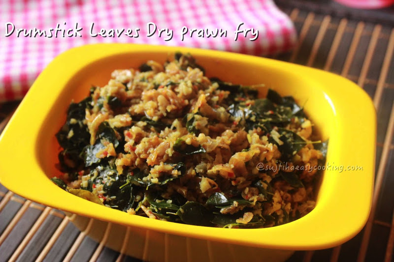 Drumstick leaves Dry baby Prawn Fry