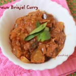 Dry Prawn Brinjal Curry