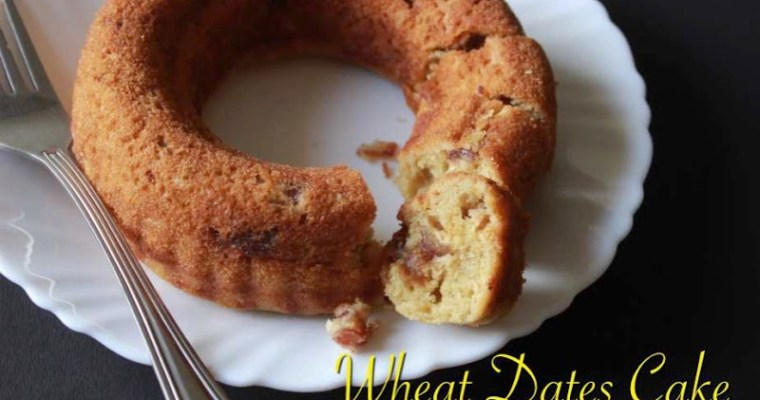 Wheat Flour Dates Cake
