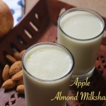 Apple Almond Milkshake