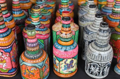 Ornate bottles